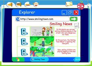 www.SmilingTown.com (Means of Communication III): listening para 5º de Primaria (Curso 5º)