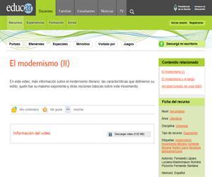 El Modernismo (II)