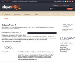 Roberto Matta 3 (Educarchile)