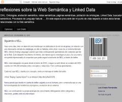 Reflexiones sobre la web semántica: 'Siguiendo a NELL' (Luis Criado)