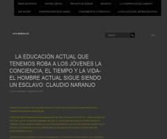 """Claudio Naranjo: """"La educación actual roba a los jóvenes la conciencia, el tiempo y la vida""""   Abidudus"""