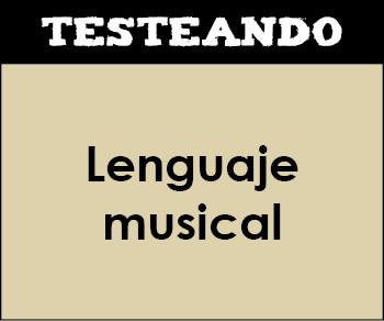 Lenguaje musical. 4º ESO - Música (Testeando)
