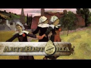 El baile de las niñas bretonas, Gauguin
