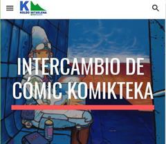 Komikteka, intercambio de cómics (aprendizaje basado en proyectos)