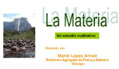 La materia, un estudio educativo