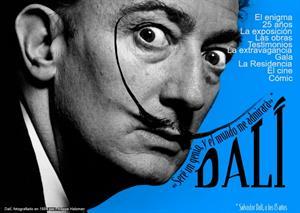 """Salvador Dalí: """"Seré un genio, y el mundo me admirará"""""""