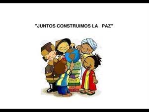 cancion Infantil HOY CANTAMOS POR LA PAZ PAZ