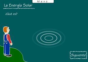 La energía solar