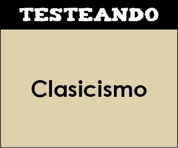 Clasicismo. 3º ESO - Música (Testeando)