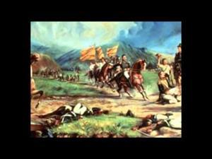 Batallas de Junín y Ayacucho (Colegio de La Cruz)