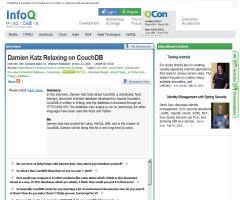 InfoQ: Entrevista a Damien Katz, creador de CouchDB