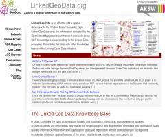 linkedgeodata.org - Añadiendo una dimensión espacial a la Web de los Datos
