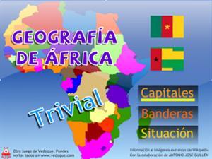 Trivial de la Geografía de África (vedoque.com)