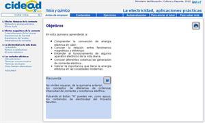 La electricidad, aplicaciones prácticas (cidead)