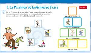 La pirámide de la actividad física (Mapfre)