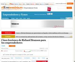 Cinco lecciones de Richard Branson para los emprendedores