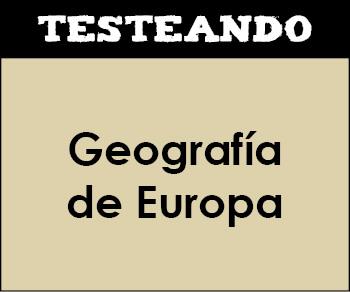 Geografía de Europa (testeando.es)