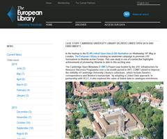 Cambridge University Library delivers linked open data and enrichments