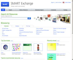 Smart Exchange: recursos educativos para Pizarra Digital