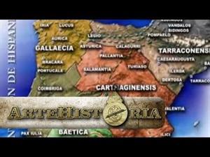 Invasiones bárbaras en Hispania