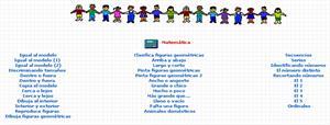 Sector Matemáticas para Educación Preescolar