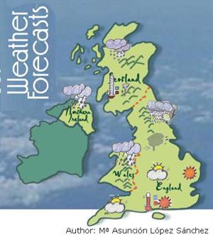 Weather Forecasts, unidad didáctica de inglés 4º ESO (Cidead)