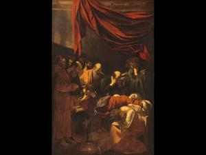 La muerte de la Virgen de Caravaggio