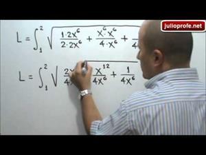 Longitud de una curva (JulioProfe)