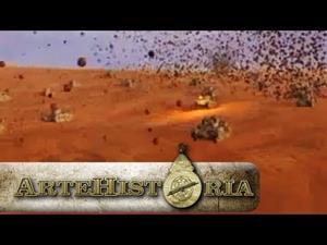 Combates en el norte de Africa