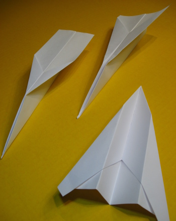 Does A Longer Paper Airplane Fly Farther than a Wide One?