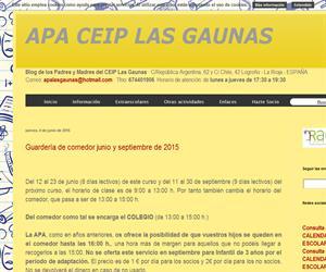 Blog de APA Las Gaunas - Premio VI Certamen Espiral de Edublogs 2012