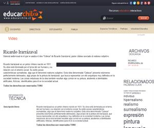 Ricardo Irarrázaval (Educarchile)