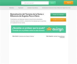 Identidades trigonométricas II  (educatina.com)