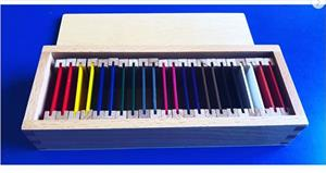 Caja de color Montessori