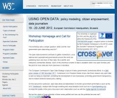 Using Open Data: policy modeling, citizen empowerment, data journalism