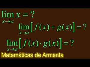 Teoremas de limites clase 1