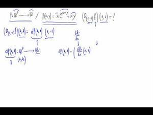 Cálculo derivada direccional a partir de diferencial