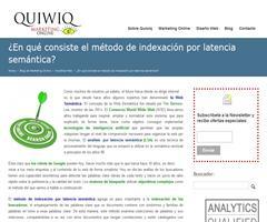 ¿En qué consiste el método de indexación por latencia semántica?