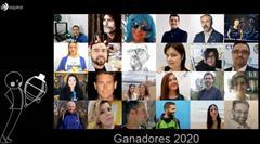 Ganadores XIV premio Espiral 2020