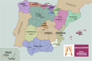 La organización de España. Conocimiento del Medio 4º Primaria (SM)