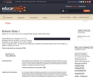 Roberto Matta 1 (Educarchile)