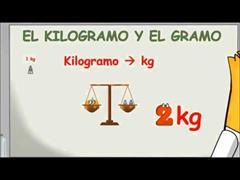 El kilogramo y el gramo