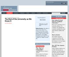 The End of the University as We Know It | The American Interest
