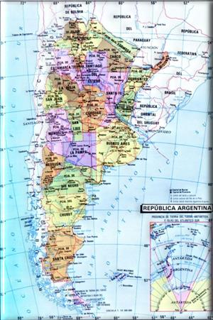 Geografía de Argentina (portalplanetasedna.com.ar)