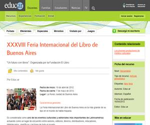 XXXVIII Feria Internacional del Libro de Buenos Aires