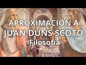 Aproximación a Juan Duns Scoto