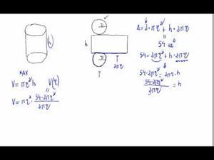 Problema de máximos y mínimos - Geometría