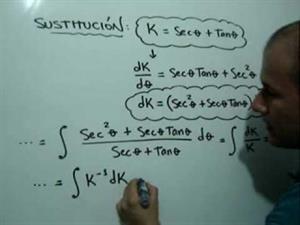 Integral por Sustitución Trigonométrica. Parte 2 de 2 (JulioProfe)