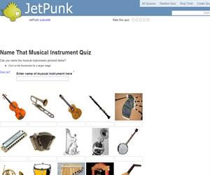 Name That Musical Instrument Quiz