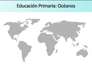Ejercicios sobre los Océanos